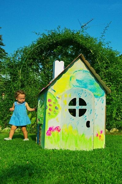 Детский домик как украсить